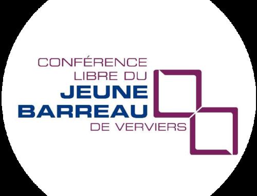 Conférence libre du Jeune Barreau de Verviers