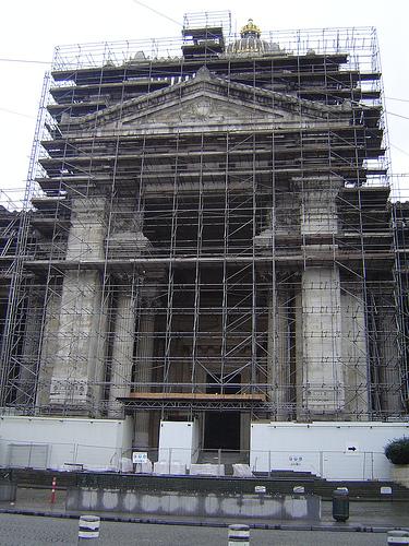 Palais de justice à Bruxelles