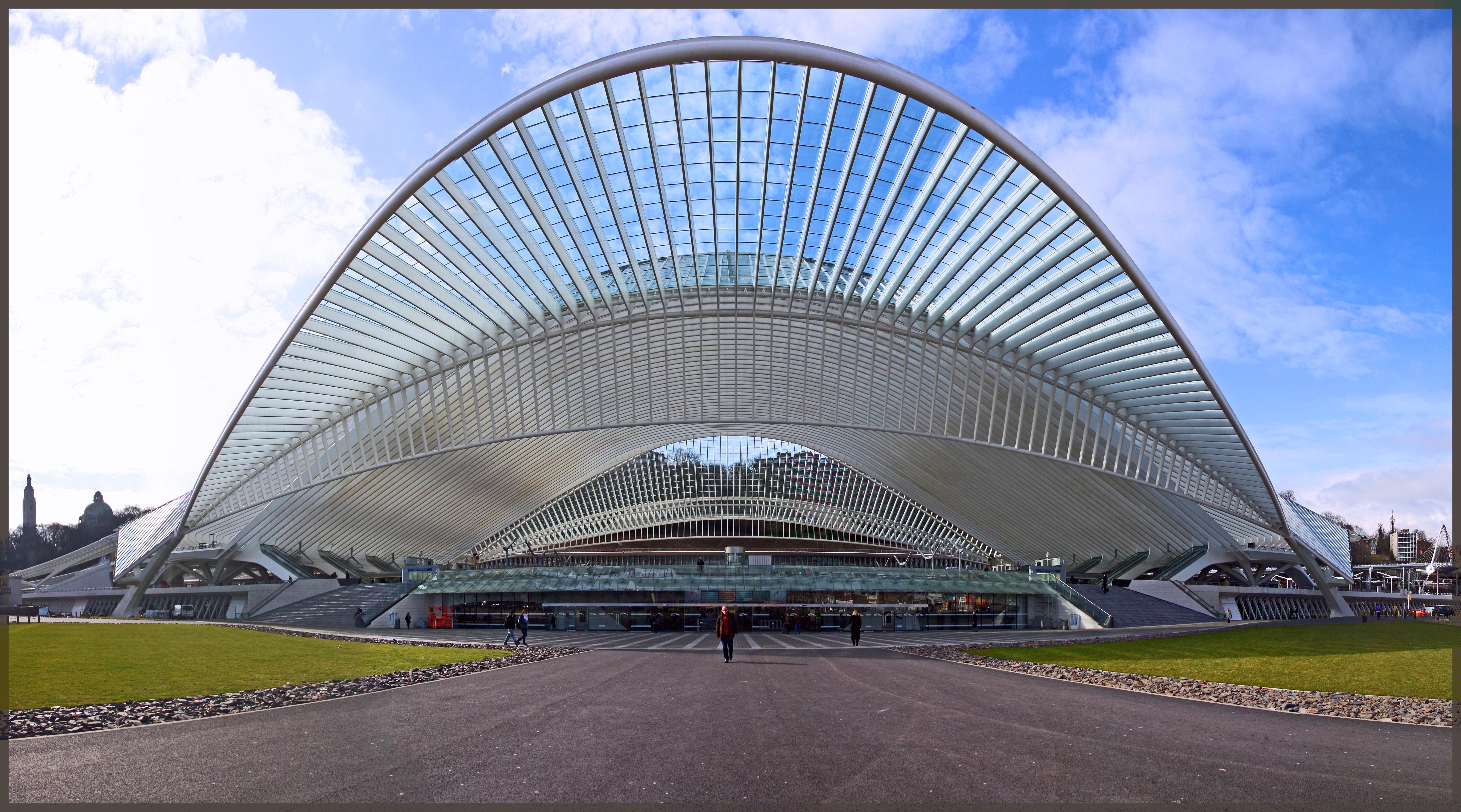 (cc) Bert Kaufmann - Liège / Luik / Lüttich - Station / Gare Liège-Guillemins