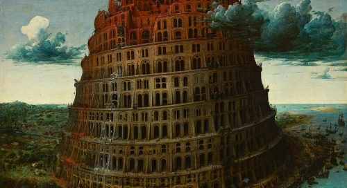 Pieter Bruegel the Elder, The Tower of Babel, c. 1564.