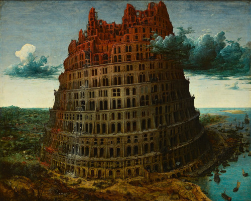 Pieter Bruegel the Elder, The Tower of Babel, c. 1564.