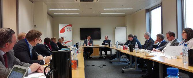 Rencontre avec la Commission européenne