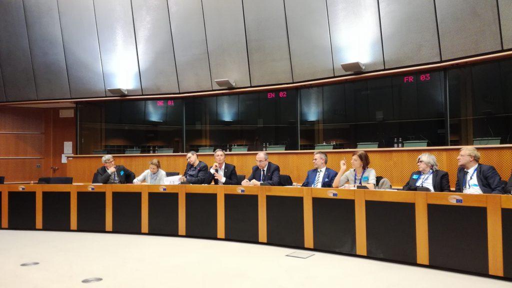 Rencontre des Bâtonniers d'AVOCATS.BE avec des parlementaires européens belges