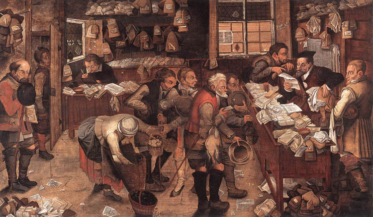 Pieter Brueghel the Younger [Public domain], via Wikimedia Commons
