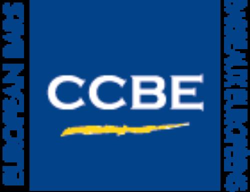 CCBE · Conseil des Barreaux européens