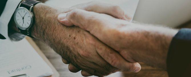 Poignée de mains