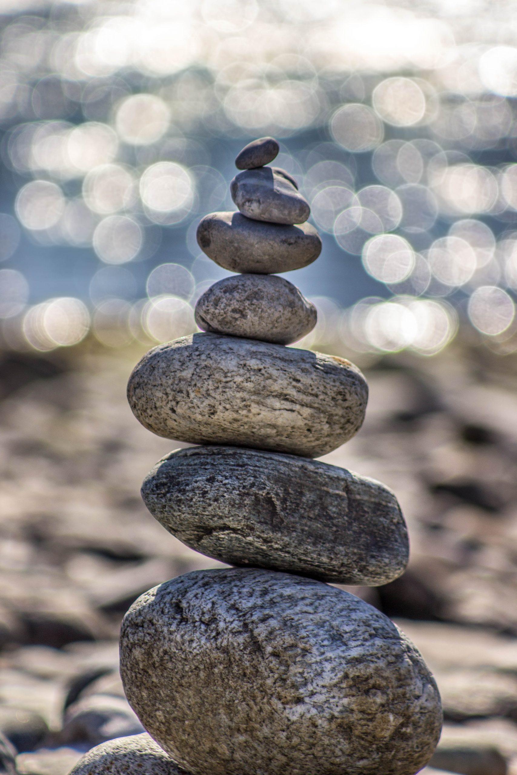 gray stones